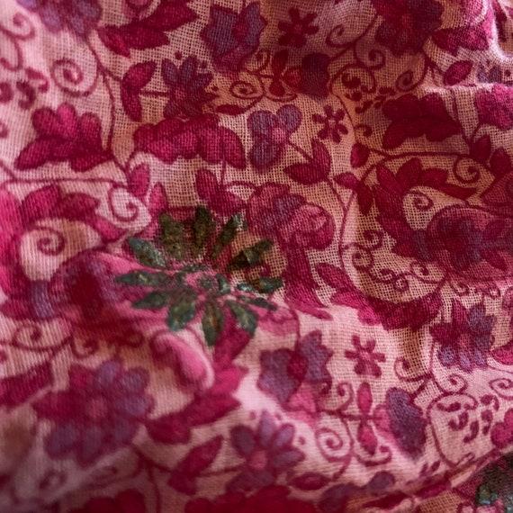 Kaiser 70s Boho Cotton dress - image 5