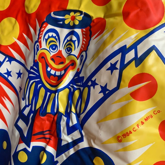 80s vintage clown Halloween costume