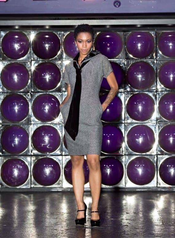 60s Vintage wool dress