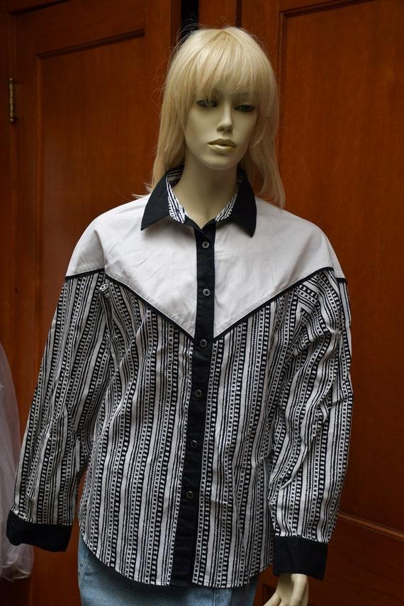Vintage Wrangler Wester Shirt