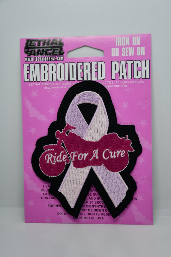 Lethal Angel Ride for a Cure Breast Cancer Patch