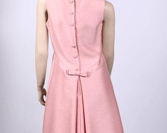 Pink 60s dress