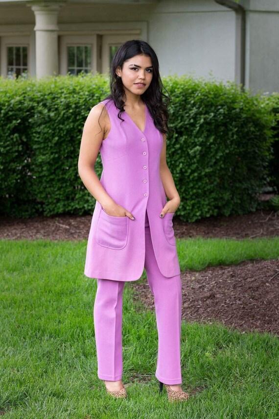 70s pantsuit garland brand