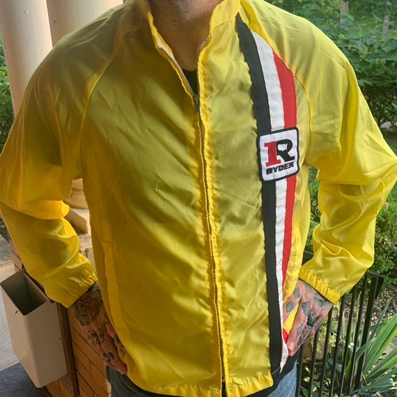 1950s Suringster racing jacket Ryder Patch