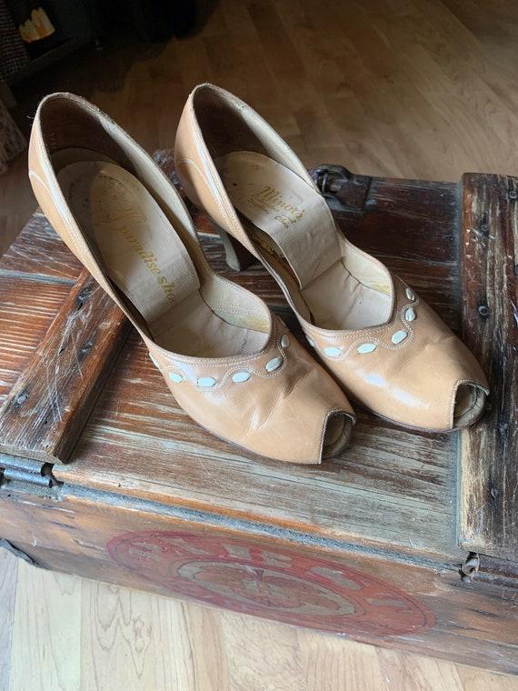 1940s Vintage Paradise Shoes