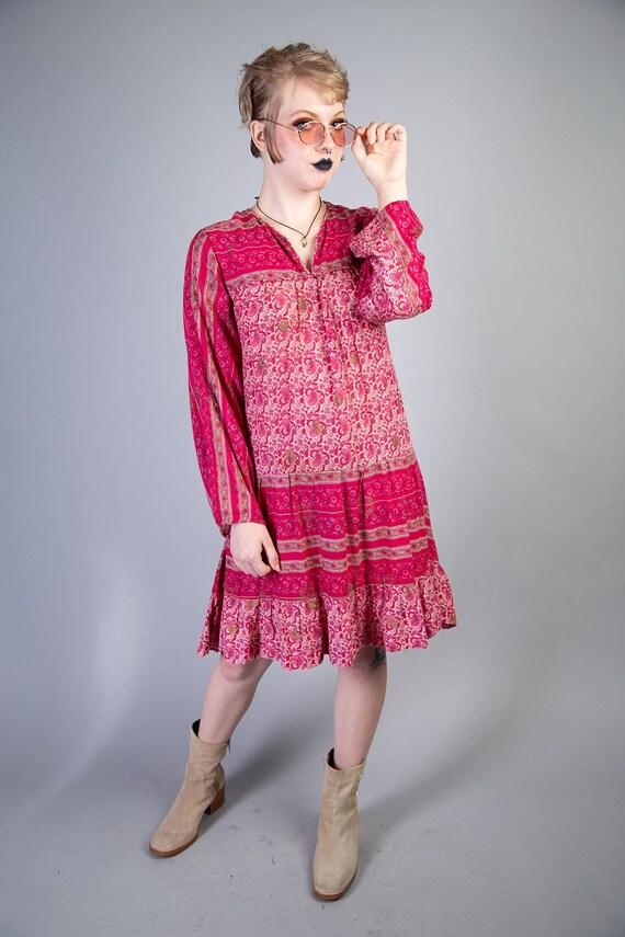 Kaiser 70s Boho Cotton dress - image 2