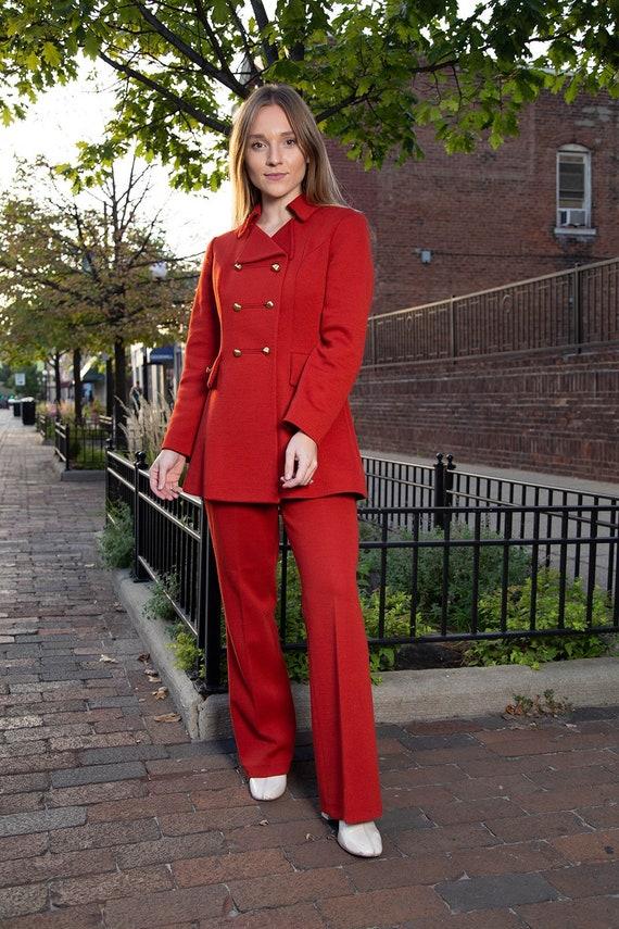 1970s pant suit