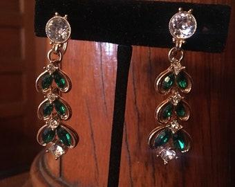 Vintage screwback dangle earrings