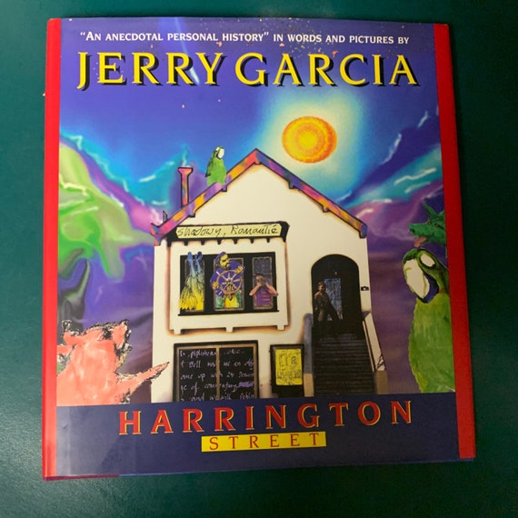 NEW Jerry Garcia Harrington Street book 1995