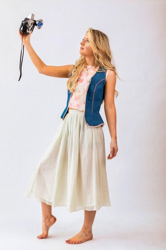 1970s Gunne Sax skirt - image 8