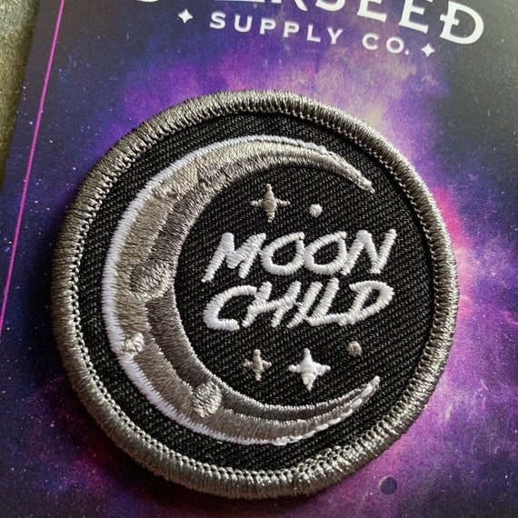 Starseed Moon Child Patch