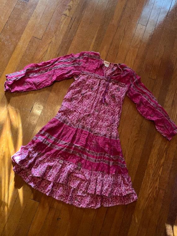 Kaiser 70s Boho Cotton dress - image 6