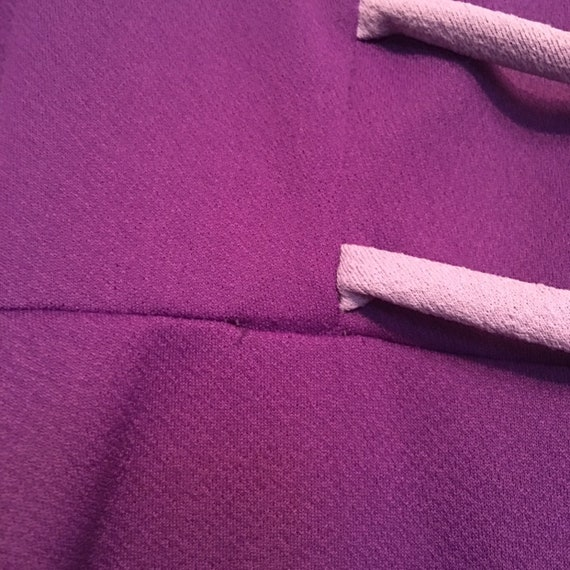 1960s purple Mod dress - image 6