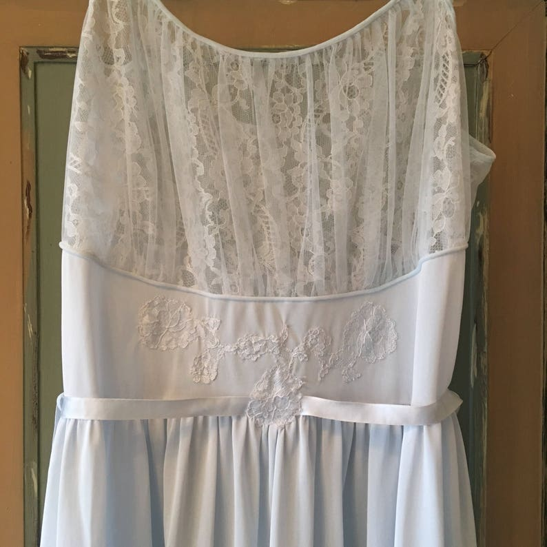 60s luxite by Kayser nightgown