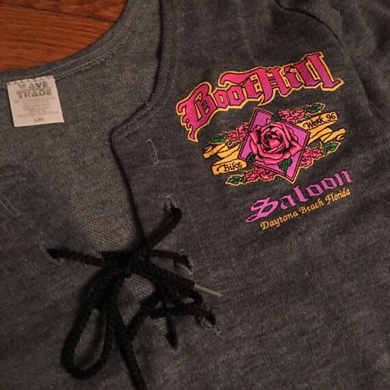 Boot Hill Saloon Daytona bike week shirt