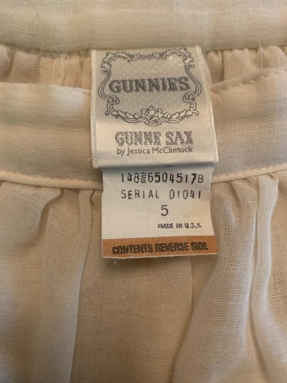 1970s Gunne Sax skirt - image 3