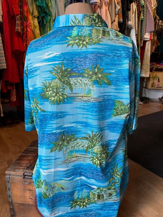 Quicksilver Mesh Aloha Shirt - image 3