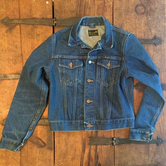 60s wrangler denim jacket