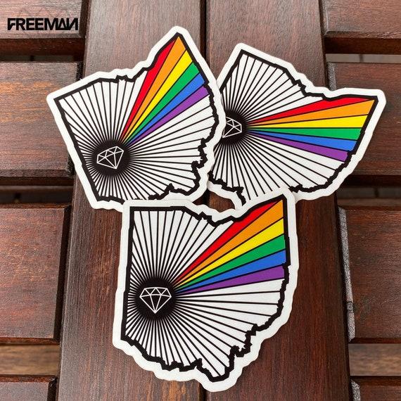 Dayton Pride sticker packs