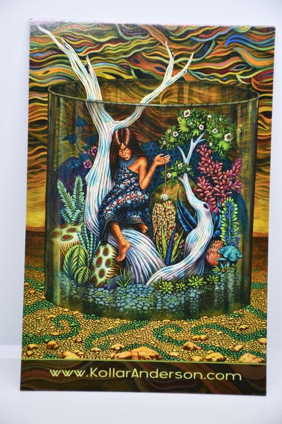 Vivarium Paintings 10 Image Postcard Set by Amy Kollar Anderson