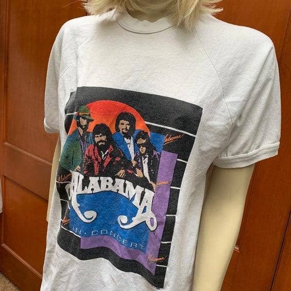 Alabama tour shirt 1988
