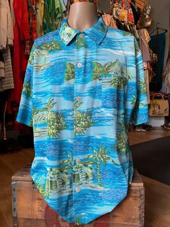 Quicksilver Mesh Aloha Shirt - image 1