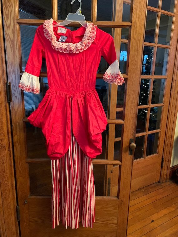 Vintage Victorian inspired Christmas dress