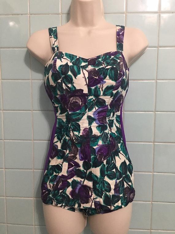 1940s vintage swimsuit