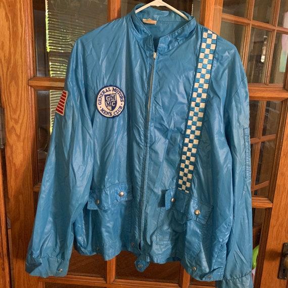 Vintage General Motors racing jacket