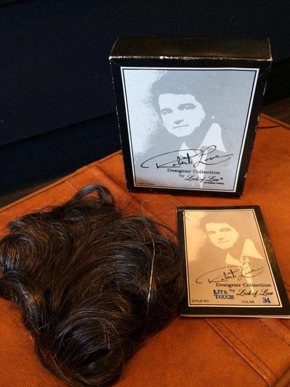 vintage wig toupee (deadstock) Robert love