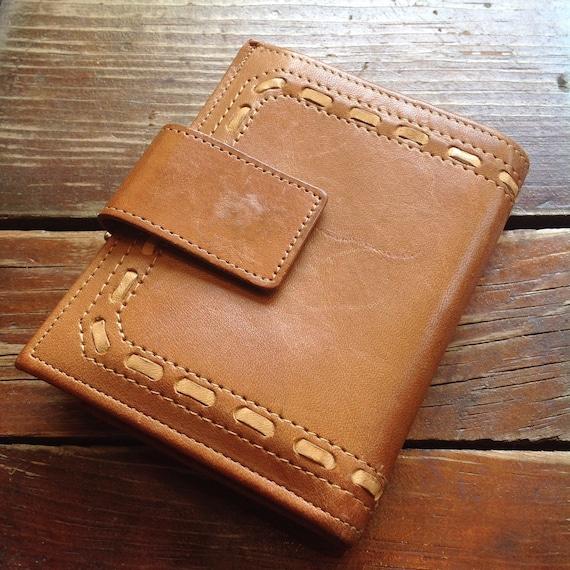 Vintage Buxton Leather Wallet