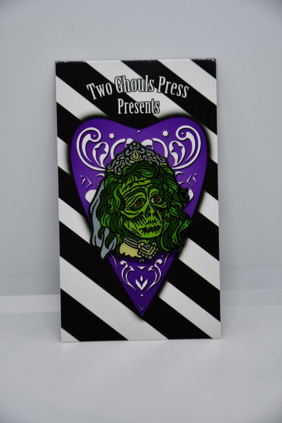 Two Ghouls Press Beetlejuice Barbara Enamel Pin