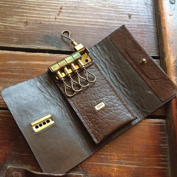 Vintage Rolfs Trifold Key Fob