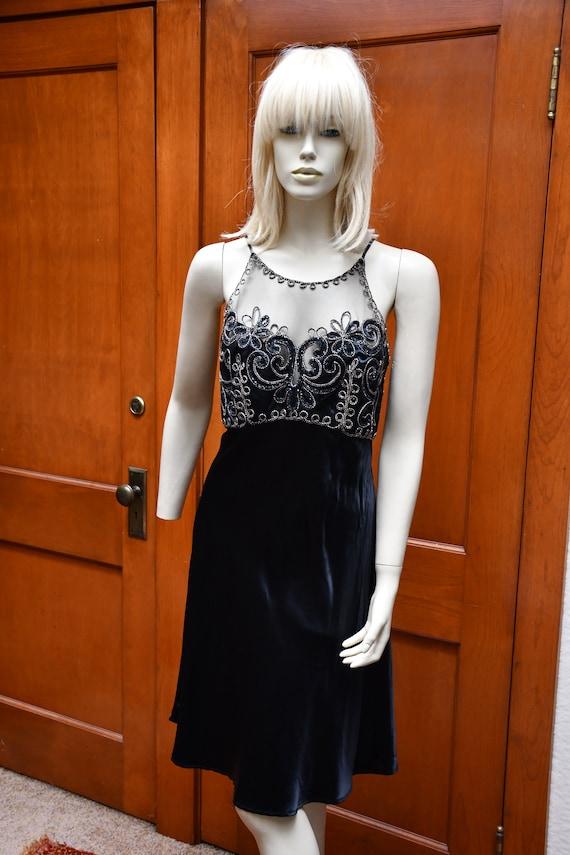 Fredericks black cocktail dress