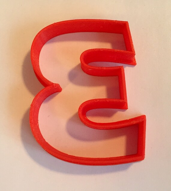 7 US SELLER!! Eras Bold cookie and fondant cutter Number Seven