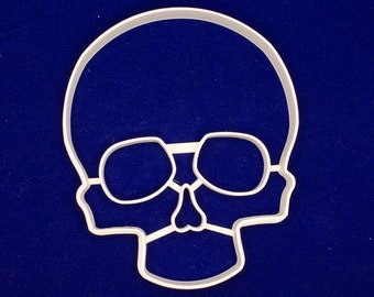 Skull shaped cookie and fondant cutter
