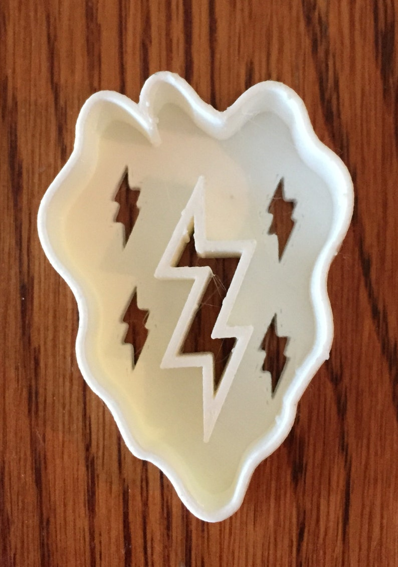 3rd Infantry Division Patch cookie and fondant cutter US SELLER!!