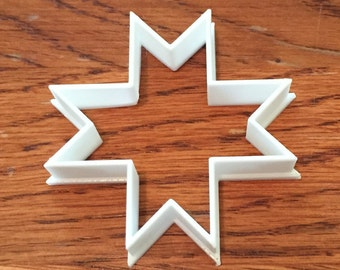 Native American cross shape cookie and fondant cutter