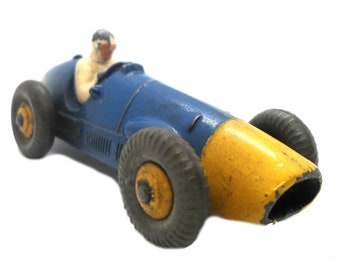 1950s Vintage Dinky 23h Ferrari Racing Car Toy. Collectible England