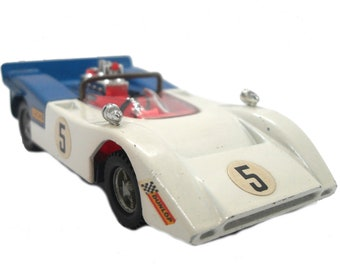 1970s Vintage Dinky 223 McLaren M8A Can Am Racing Car Toy. Collectible made in England
