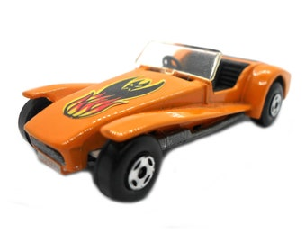 1970s Vintage Matchbox Superfast 60c Lotus Super Seven racing car toy Collectible Made in England