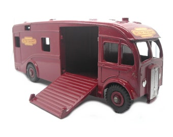 1950s Vintage Dinky 581 Horse Box British Railways Toy Collectible England