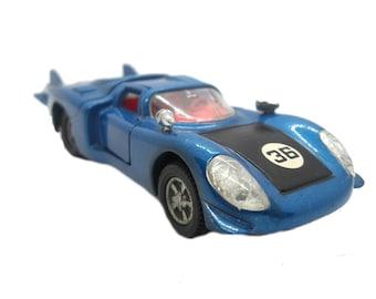 1970s Vintage Dinky 210 Alfa Romeo 33 Tipo Le Mans Racing Car Toy. Collectible England