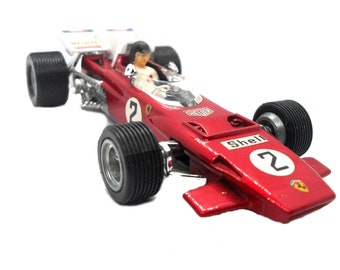 1970s Vintage Dinky 226 Ferrari 312-B2 Racing Car Toy. Collectible made in England