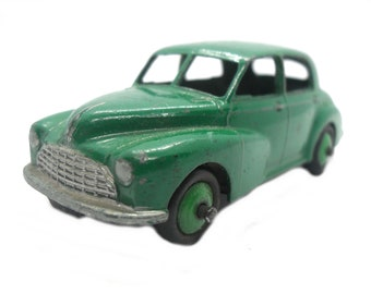 1950s Vintage Dinky 159 Morris Oxford. Toy Collectible. Made in England