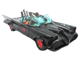 """1960s Vintage Corgi 267 """"Batmobile"""" 1st Issue, Toy Collectible Made in England"""