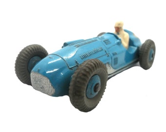 1950s Vintage Dinky 23k Talbot Lago Racing Car Toy. Collectible England