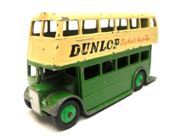 1950s Vintage Dinky 290 London Bus Toy Collectible England