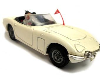 1960s Vintage Corgi 336 Bond Toyota 2000 Car Toy Collectible England