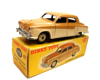 1950s Vintage Dinky 172 Studebaker Land Cruiser Toy Collectible. Made in England